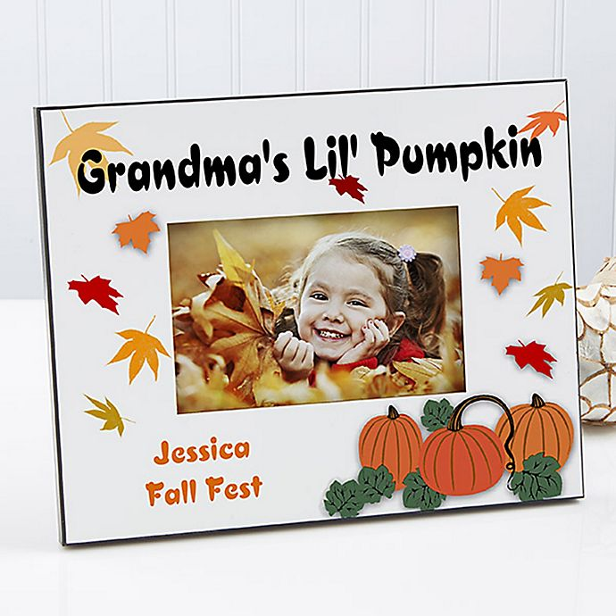 Alternate image 1 for Pumpkin Patch 4-Inch x 6-Inch Picture Frame