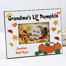 Pumpkin Patch 4-Inch x 6-Inch Picture Frame