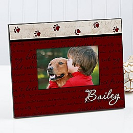 Man's Best Friend 4-Inch x 6-Inch Picture Frame