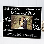 Mr. & Mrs. Collection 4-Inch x 6-Inch Picture Frame