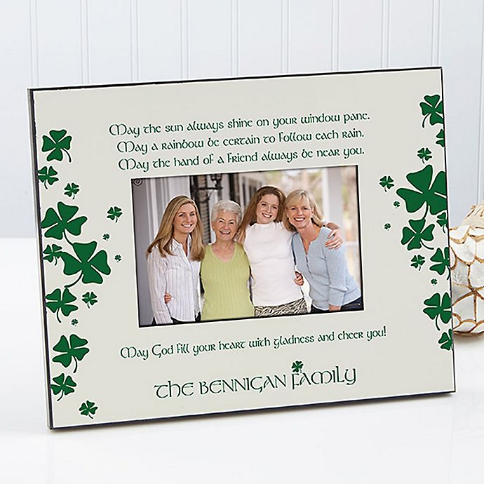 Alternate image 1 for Irish Blessing 4-Inch x 6-Inch Picture Frame