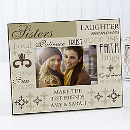 What She's Made Of 4-Inch x 6-Inch Picture Frame