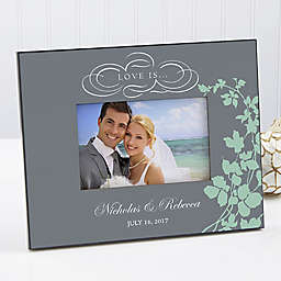 """""""Love is..."""" 4-Inch x 6-Inch Picture Frame"""