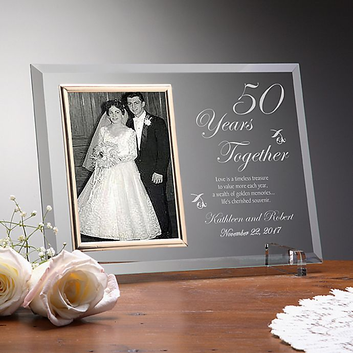 Alternate image 1 for Anniversary Memories Picture Frame