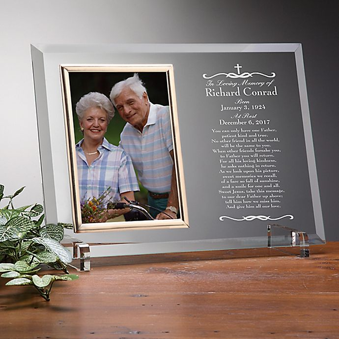 Alternate image 1 for We Shall Meet Again Memorial Engraved Picture Frame