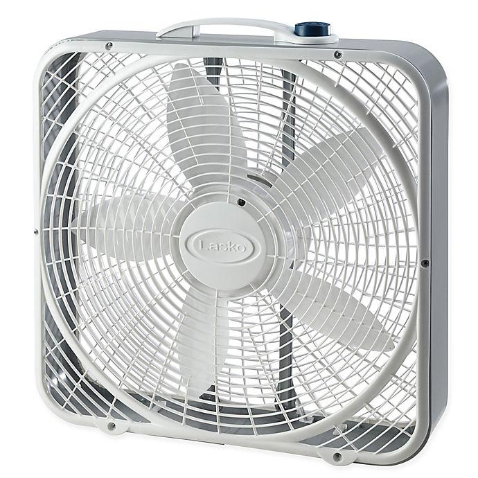 Alternate image 1 for Lasko® 20-Inch Power Plus Box Fan