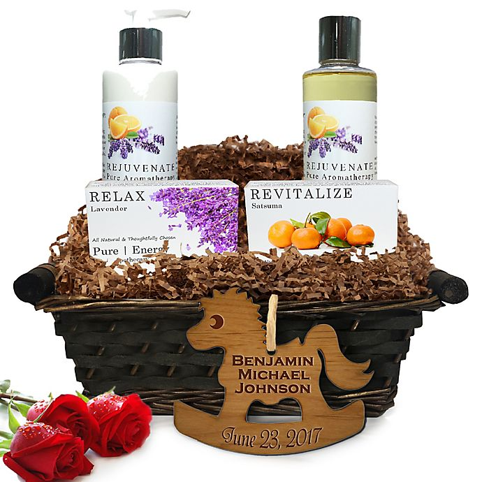 Alternate image 1 for Pure Energy Apothecary Daily Delight Pure Aromatherapy Baby Gift Basket