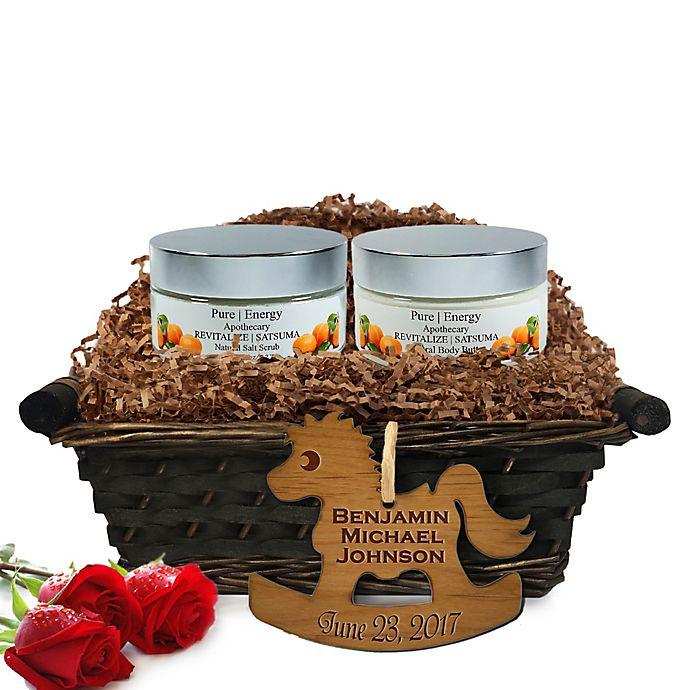 Alternate image 1 for Pure Energy Apothecary Supreme Sensation Satsuma Baby Gift Basket