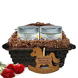 Pure Energy Apothecary Supreme Sensation Pure Aromatherapy Baby Gift Basket