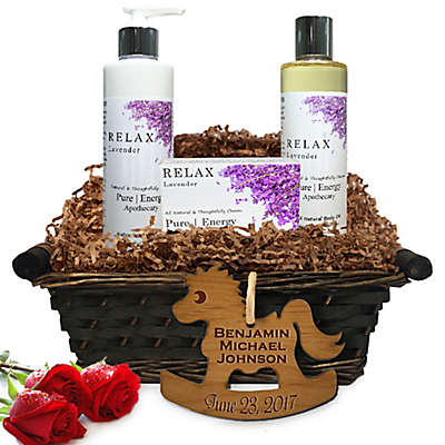 Pure Energy Apothecary Daily Delight Lavender Baby Gift Basket