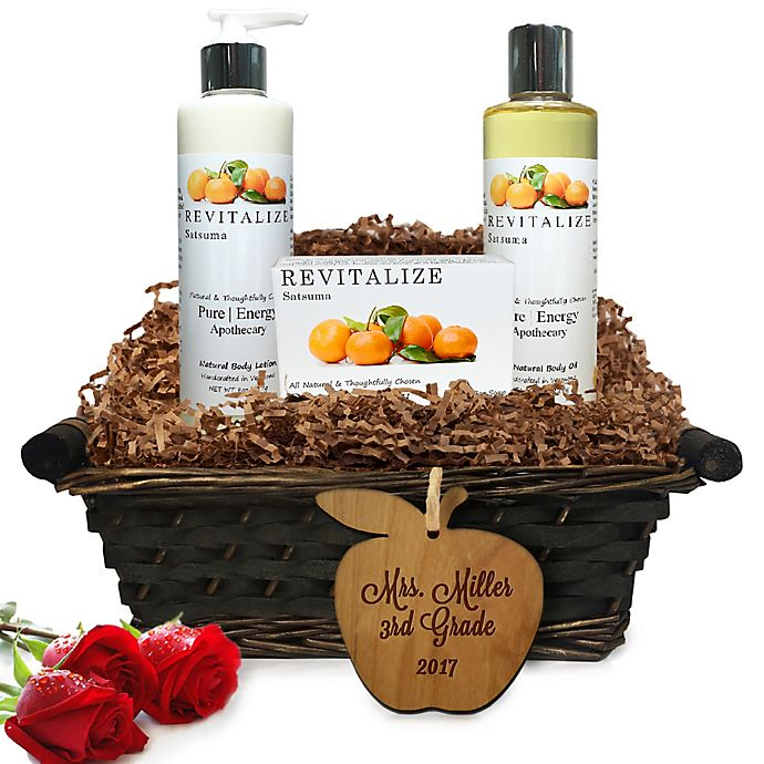 Alternate image 1 for Pure Energy Apothecary Daily Delight Satsuma Teacher Gift Basket