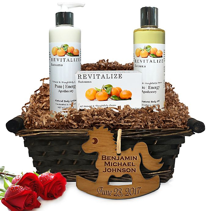 Alternate image 1 for Pure Energy Apothecary Daily Delight Satsuma Baby Gift Basket