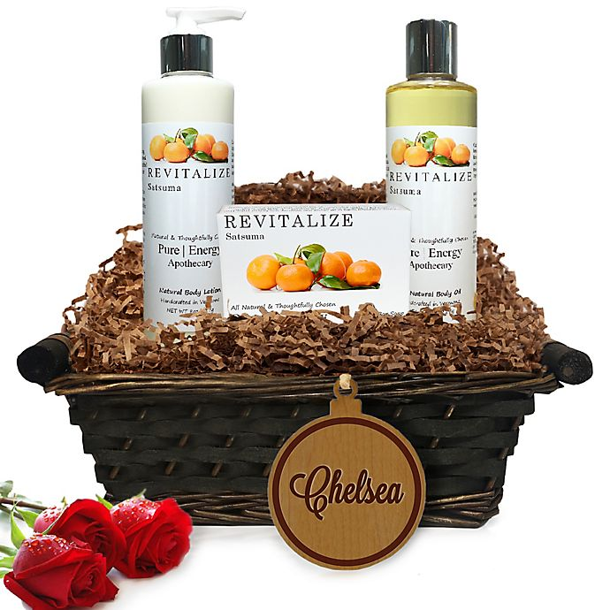 Alternate image 1 for Pure Energy Apothecary Daily Delight Satsuma Name Gift Basket