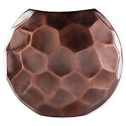 Carassima Small Decorative Table Vase in Brown