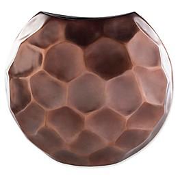 Carassima Medium Decorative Table Vase in Brown