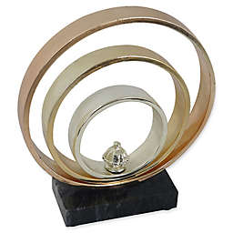Moe's Home Collection Gold Bands II Sculpture