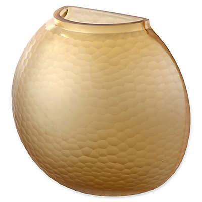 Moe's Home Collection Terra Vase in Amber