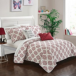 Chic Home Arvin 7-Piece Reversible Quilt Set
