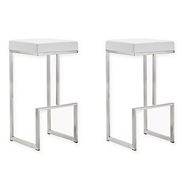 TOV Furniture Ferrara Steel Bar Stools (Set of 2)