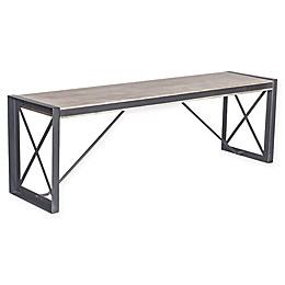 Moe's Home Collection Large Bench in Light Brown