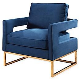 Abbyson Living Cromwell Velvet Armchair