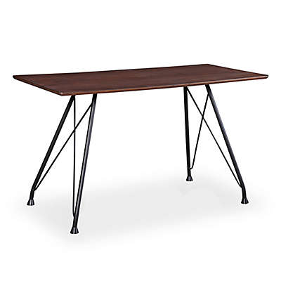 TOV Furniture Dorian Table in Brown/Black