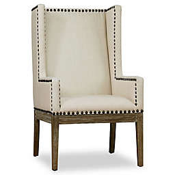 TOV Furniture Tribeca Linen Chair in Beige