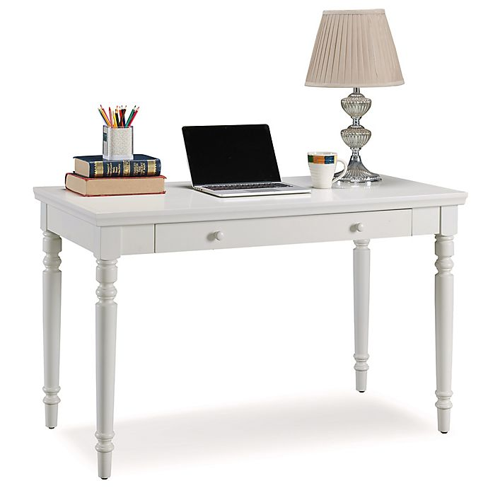 Alternate image 1 for Leick Home Cottage Laptop Desk in White