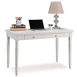 Leick Home Cottage Laptop Desk in White