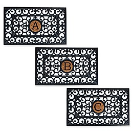 Home & More Scroll Monogrammed \