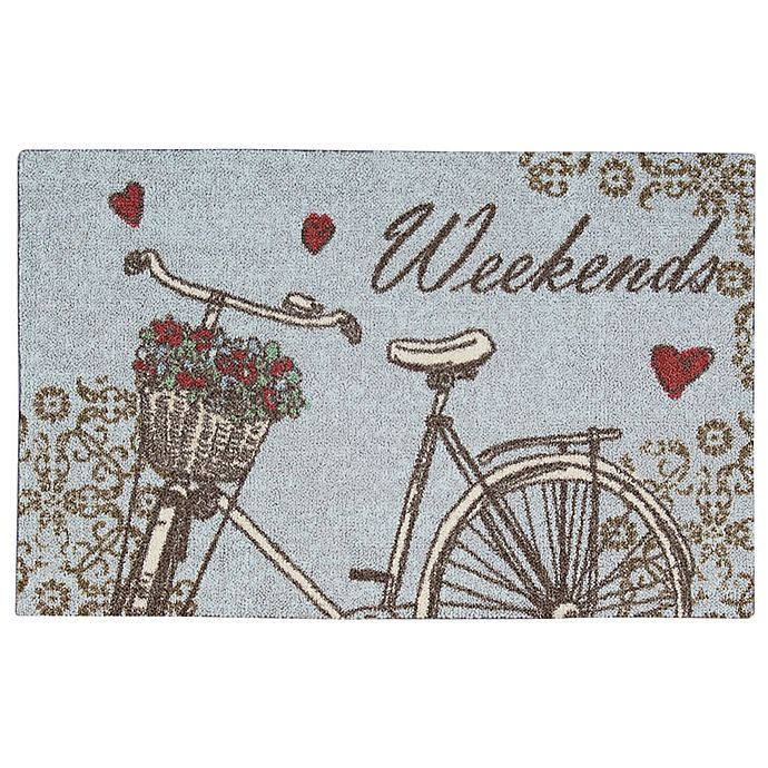 Alternate image 1 for Nourison Weekends 1-Foot 8-Inch x 2-Foot 8-Inch Accent Rug in Grey