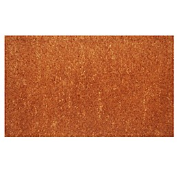 Home & More Natural Coir Monogrammed Door Mat