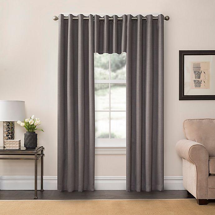 Ashton 108-Inch Grommet Top Room Darkening Window Curtain Panel in Ivory