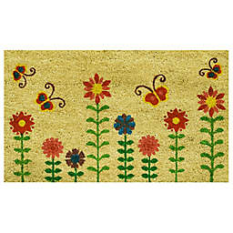 Home & More Lazy Daze 17-Inch x 29-Inch Multicolor Door Mat