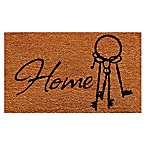 Home & More Home Keys 17-Inch x 29-Inch Multicolor Door Mat
