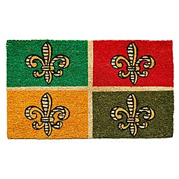 Home & More Rue des Bourbon 17-Inch x 29-Inch Multicolor Door Mat