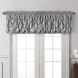 VCNY Home Carmen Window Valance in Grey