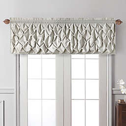VCNY Home Carmen Window Valance in Taupe