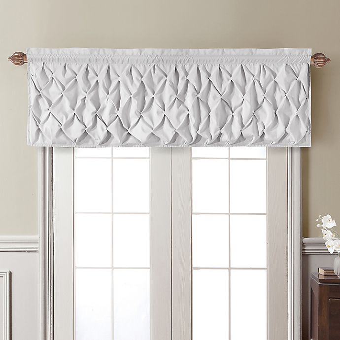 Alternate image 1 for VCNY Home Carmen Window Valance in White