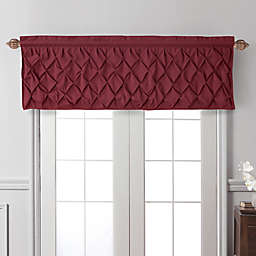VCNY Home Carmen Window Valance in Burgundy
