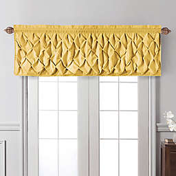 VCNY Home Carmen Window Valance in Yellow