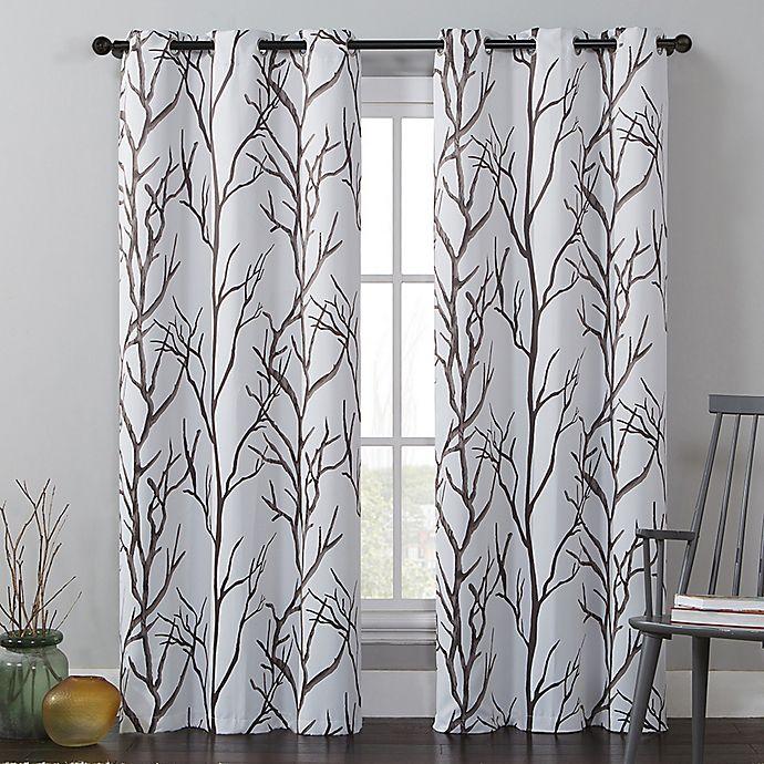 Alternate image 1 for VCNY Home Kingdom Grommet Top Room Darkening Window Curtain Panel