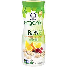 Gerber® 1.48 oz. Organic Puffs Grain Snack in Cranberry Orange