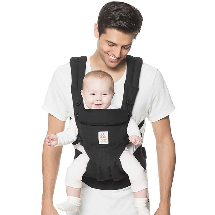 Alternate image 1 for Ergobaby™ Omni 360 Baby Carrier in Pure Black