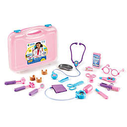 Learning Resources® Pretend & Play® 19-Piece Doctor Set in Pink