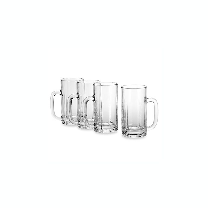Alternate image 1 for Mikasa® Brewmasters 16 1/2-Ounce Beer Mugs (Set of 4)