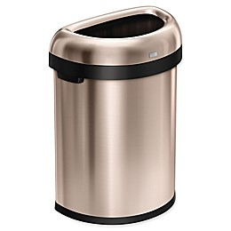 simplehuman® 80 Liter Semi-Round Open Trash Can