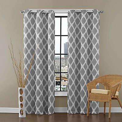 VCNY Home Tribeca Grommet Top Room Darkening Window Curtain Panel Pair
