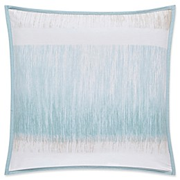 Oscar/Oliver Vince Square Throw Pillow in Aqua