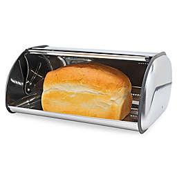 Home Basics® Stainless Steel Bread Box